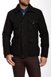 Grayers Eliot Quilted Wool Jacket Green