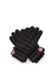 Canada Goose Lightweight Quilted Gloves Black