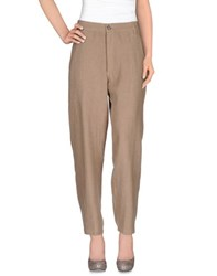 Mes Demoiselles Trousers Casual Trousers Women Camel