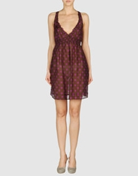 Toton Comella Tcn Short Dresses Brown