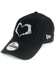 Ktz Heart Stamp Cap Black