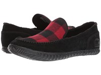 Sorel Dude Moctm Black Red Dahlia Men's Slippers
