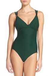 Amoressa Women's Strappy One Piece Swimsuit