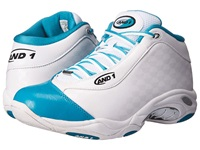 And 1 Tai Chi Allstar White Teal Silver Men's Basketball Shoes Blue