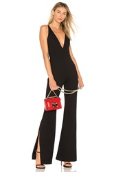 Amanda Uprichard Norwood Jumpsuit Black