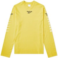 Reebok Long Sleeve Multi Vector Tee Yellow