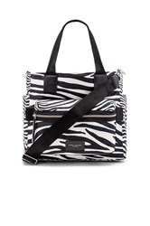 Marc Jacobs Zebra Biker Babybag Black And White