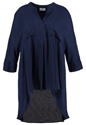 Live Unlimited London Tunic Navy Dark Blue