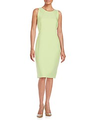 Lafayette 148 New York Alora Sheath Dress Mint