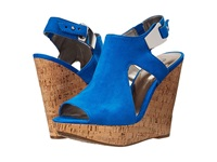 Carlos By Carlos Santana Malor Blue Women's Wedge Shoes