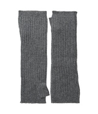 Hat Attack Cashmere Arm Warmer Charcoal Extreme Cold Weather Gloves Gray