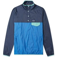 Patagonia Houdini Snap T Pullover Jacket Blue