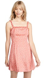 The Fifth Label Kaleidoscope Dress Coral Ivory Floral