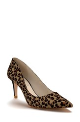 Shoes Of Prey Women's Pointy Toe Pump Leopard Print Calf Hair