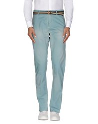 Scotch And Soda Trousers Casual Trousers Men Sky Blue