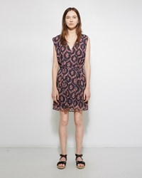 Isabel Marant Tuxi Printed Dress Red