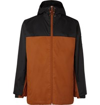 The North Face Mountain Q Waterproof Shell Hooded Jacket Brown