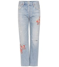 Citizens Of Humanity Cora High Rise Jeans Blue