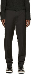 3.1 Phillip Lim Black Band Detail Trousers