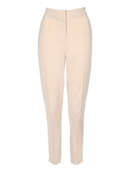 Jane Norman Silky Turn Up Hem Trousers Pink