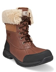 Ugg Mens Butte Sheepskin Leather Boots Worchester