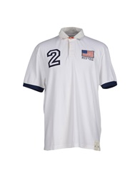 Brooksfield Polo Shirts White