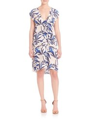 Elle Sasson Allison Dress Blue White