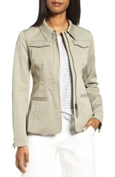 Nordstrom Women's Collection Fitted Field Jacket