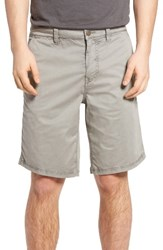 John Varvatos Men's Star Usa Triple Needle Shorts Reflection Grey
