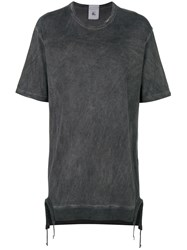 Lost And Found Rooms Oversized Faded T Shirt Grey