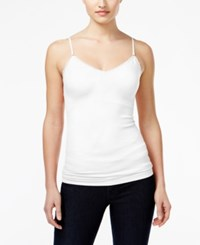 Energie Juniors' Jane Molded Cup Cami Top Bright White