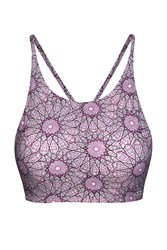 Lorna Jane Karma Yoga Bra Multi Coloured Multi Coloured