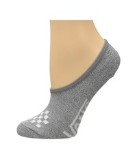 Vans Basic Canoodle Heather Grey Women's No Show Socks Shoes Gray