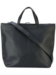 Isaac Reina 'Pilot' Bag Unisex Calf Leather One Size Black