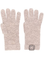 Max And Moi Classic Gloves Brown