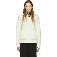 Proenza Schouler Off White White Label Chunky Rib Sweater