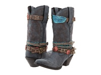 Durango Crush 12 Accessorize W Removable Straps Black Cowboy Boots