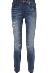 Madewell The High Riser Distressed Skinny Jeans