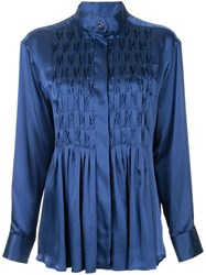 Maggie Marilyn Pick Me Up At 8 Shirt Blue