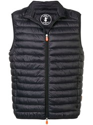 Save The Duck Padded Gilet Black