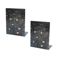 Fornasetti Gerusalemme Di Notte Bookends Set Of 2
