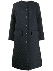 Acne Studios Single Breasted Quilted Coat 60
