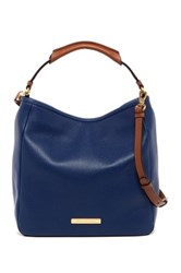 Marc By Marc Jacobs Softy Leather Saddle Hobo Blue