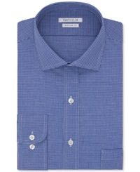 Van Heusen Big And Tall Blue Check Dress Shirt