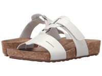 Walking Cradles Penny White Soft Antanado Cork Wrap Women's Sandals