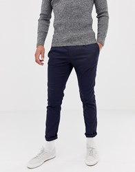 Tom Tailor Smart Tapered Crop Jogger Navy