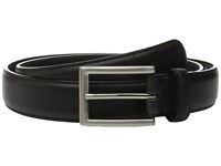 Stacy Adams Max 32Mm Lizard Embossed Keeper And Tail Black Men's Belts