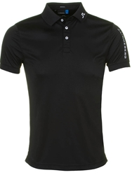J. Lindeberg Tour Tech Tx Polo Shirt Black