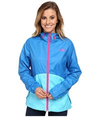 The North Face Flyweight Hoodie Clear Lake Blue Fortuna Blue Women's Coat