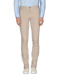 Camouflage Ar And J. Trousers Casual Trousers Men Beige